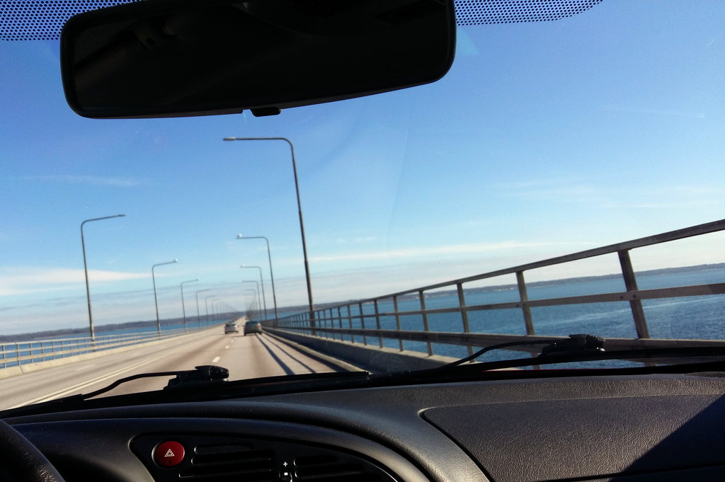 Öland bridge. Photo: Sanjin Đumišić.