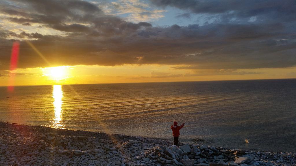 Öland sea sunset. Photo: Sanjin Đumišić.