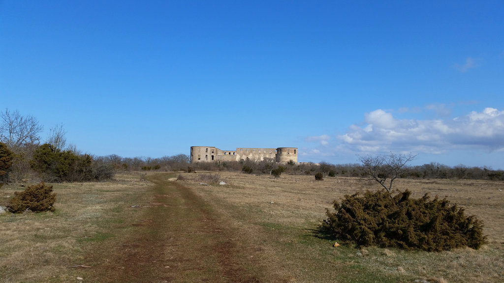 Outside Borgholm Castle. Photo: Sanjin Đumišić.