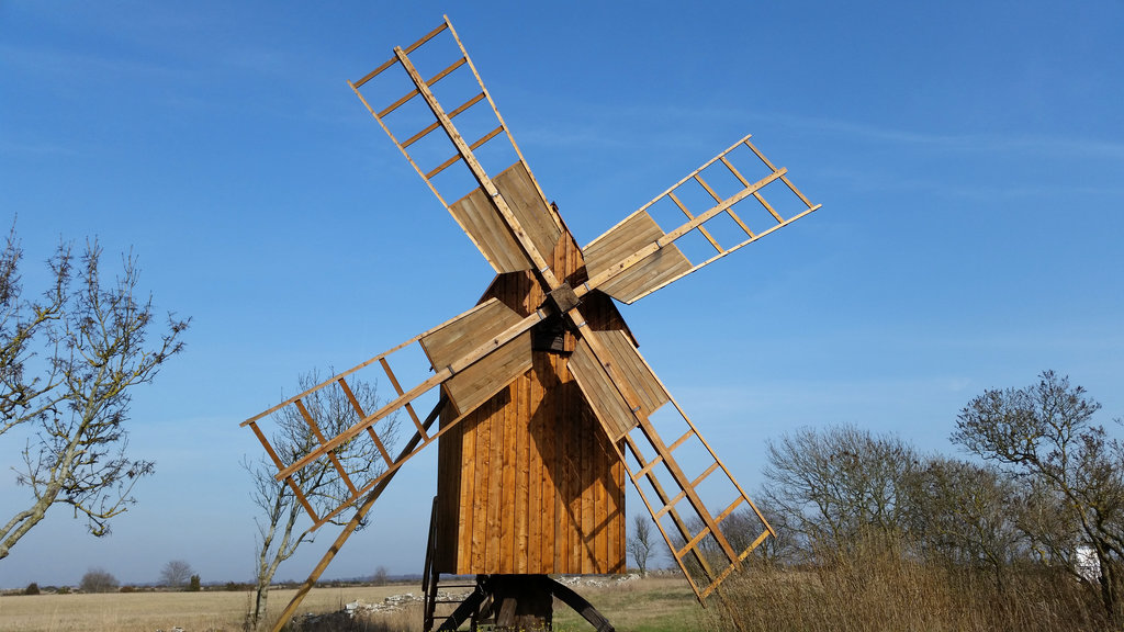 Windmill in Öland. Photo: Sanjin Đumišić.