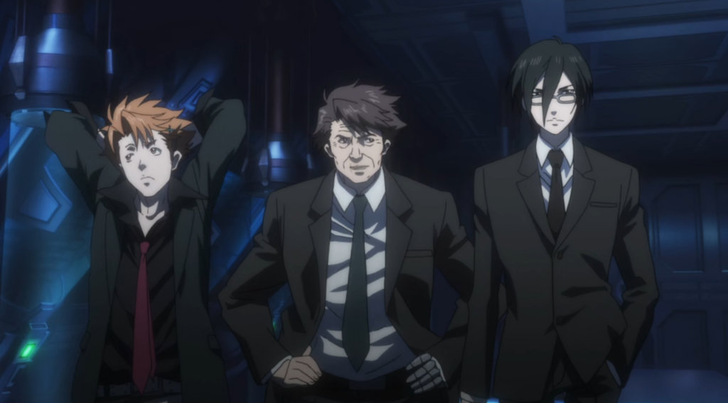 Anime 'Psycho-Pass'.