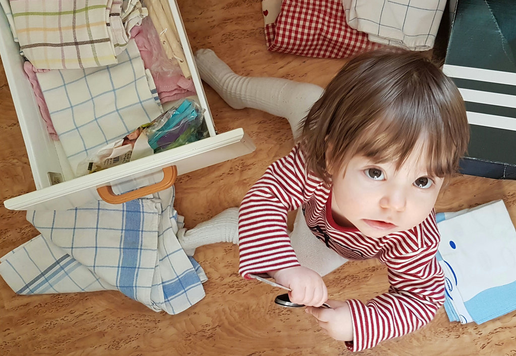 Baby chaos at home. Photo: Sanjin Đumišić.