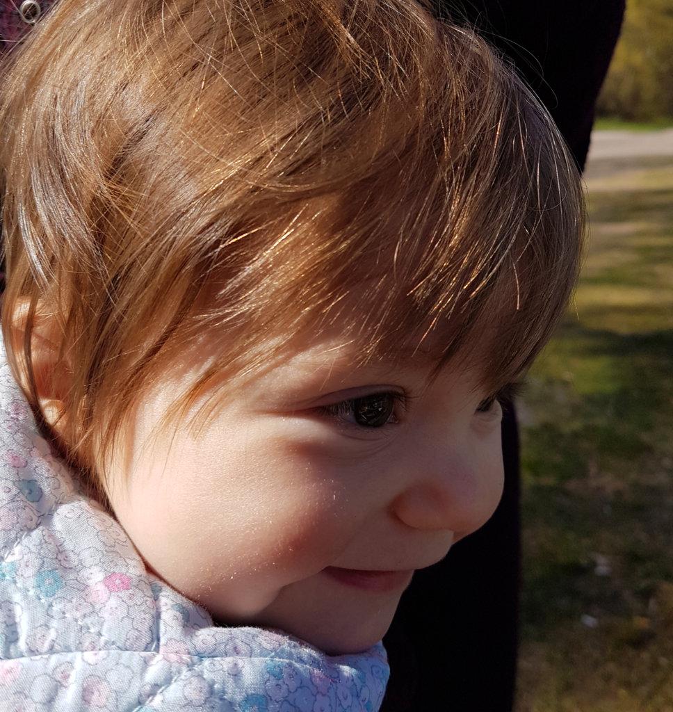Baby Florens, early spring portrait. Photo: Sanjin Đumišić.
