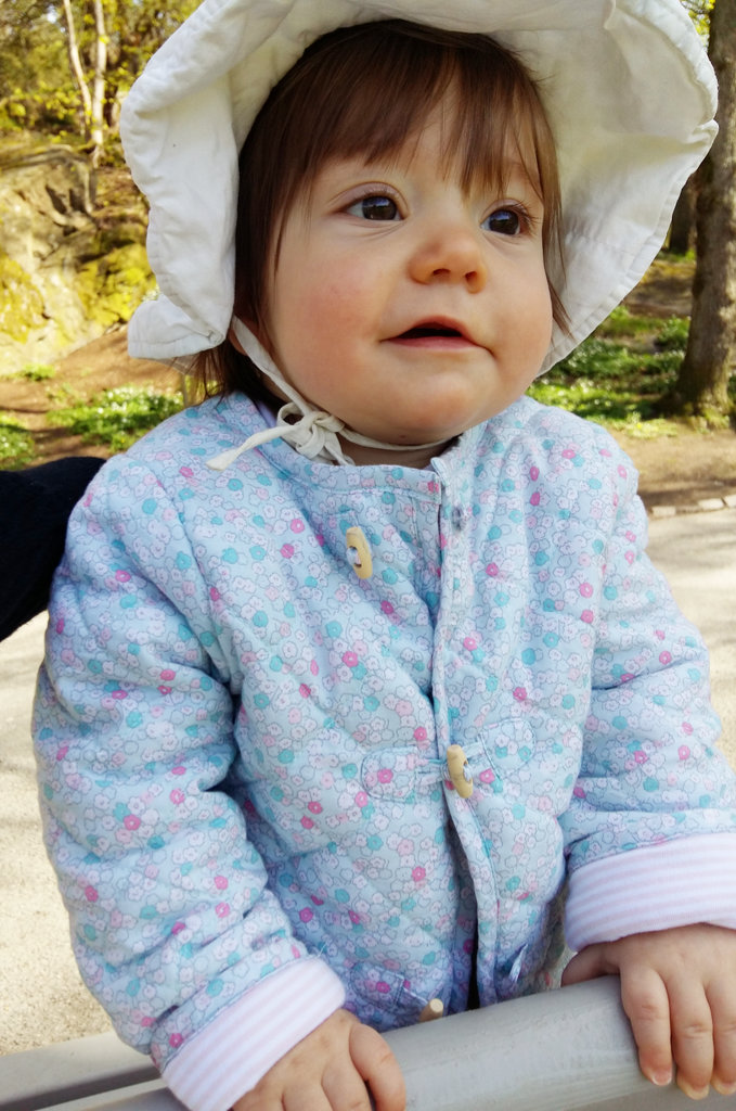 Baby Florens in Slottsskogen. Photo: Lisa Sinclair.