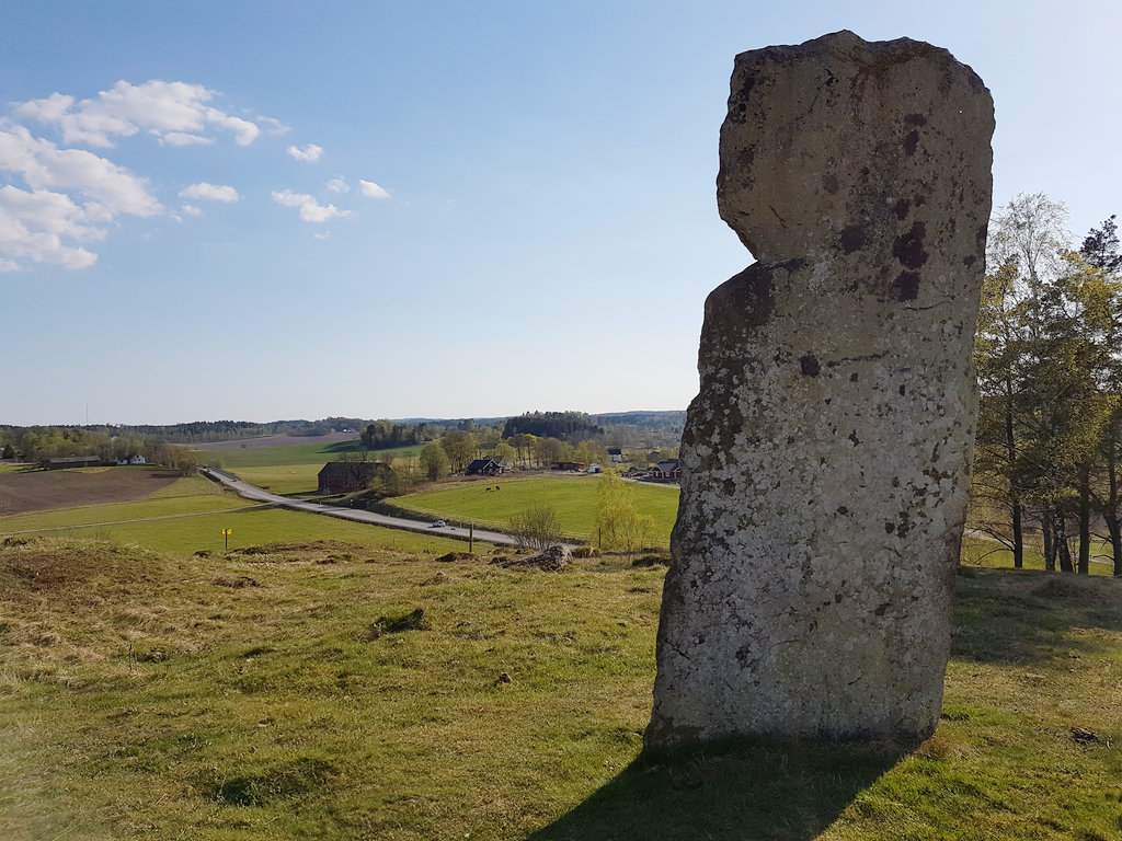 Megalith in Håvesten, Sweden. Photo: Sanjin Đumišić.