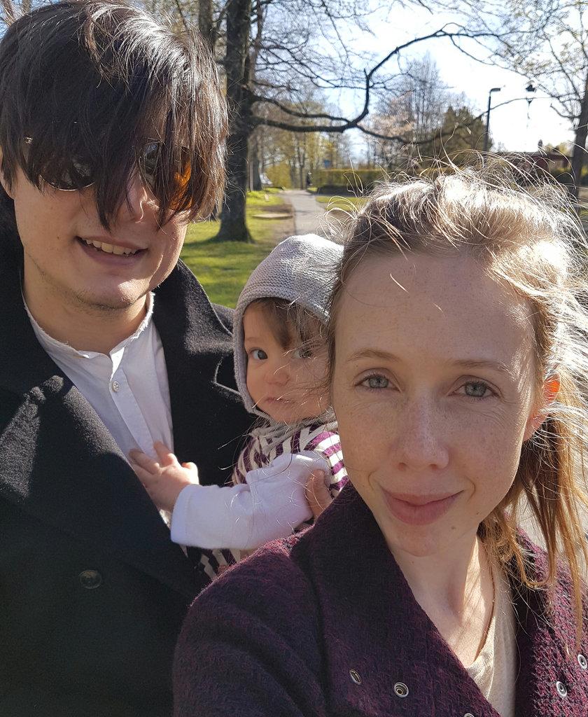 Sanjin, Florens, Lisa, May Day selfie.