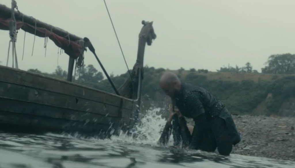 Sociopathic violence in 'Vikings'.