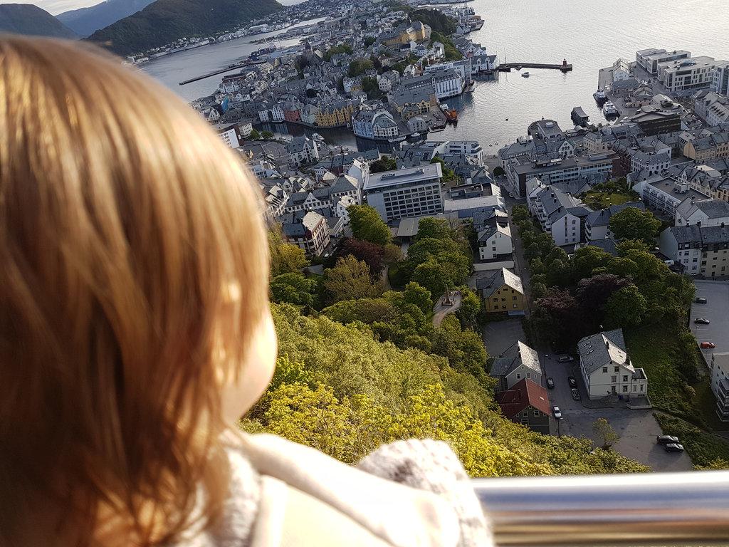 Baby Florens, Norway road trip. Photo: Sanjin Đumišić.