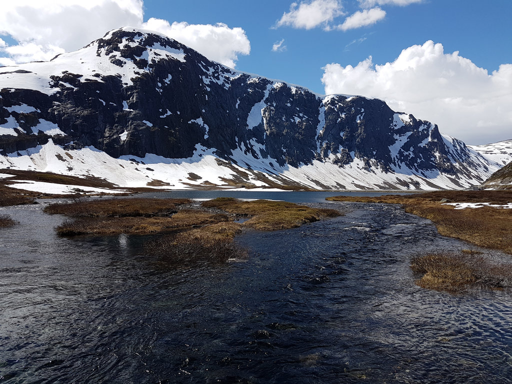 Mountain river, road trip Norway. Photo: Sanjin Đumišić.