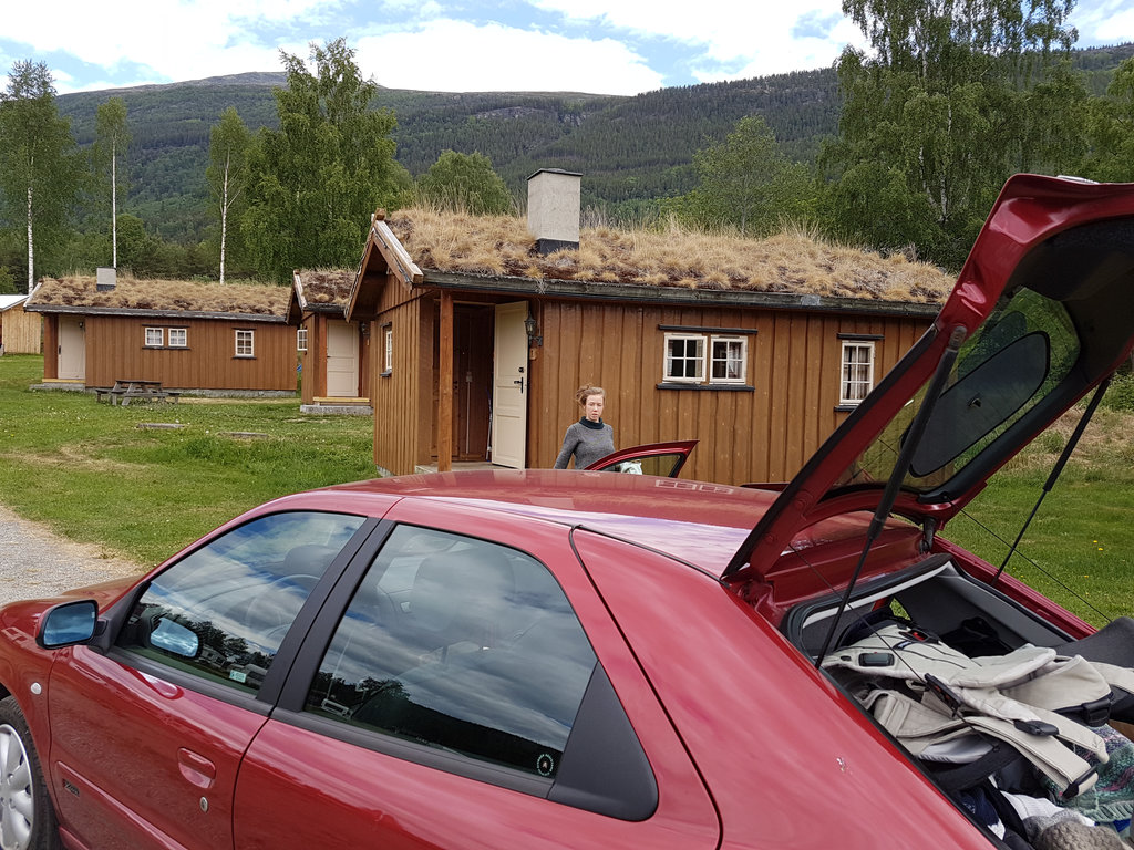 Norway road trip, rent a cabin. Photo: Sanjin Đumišić.
