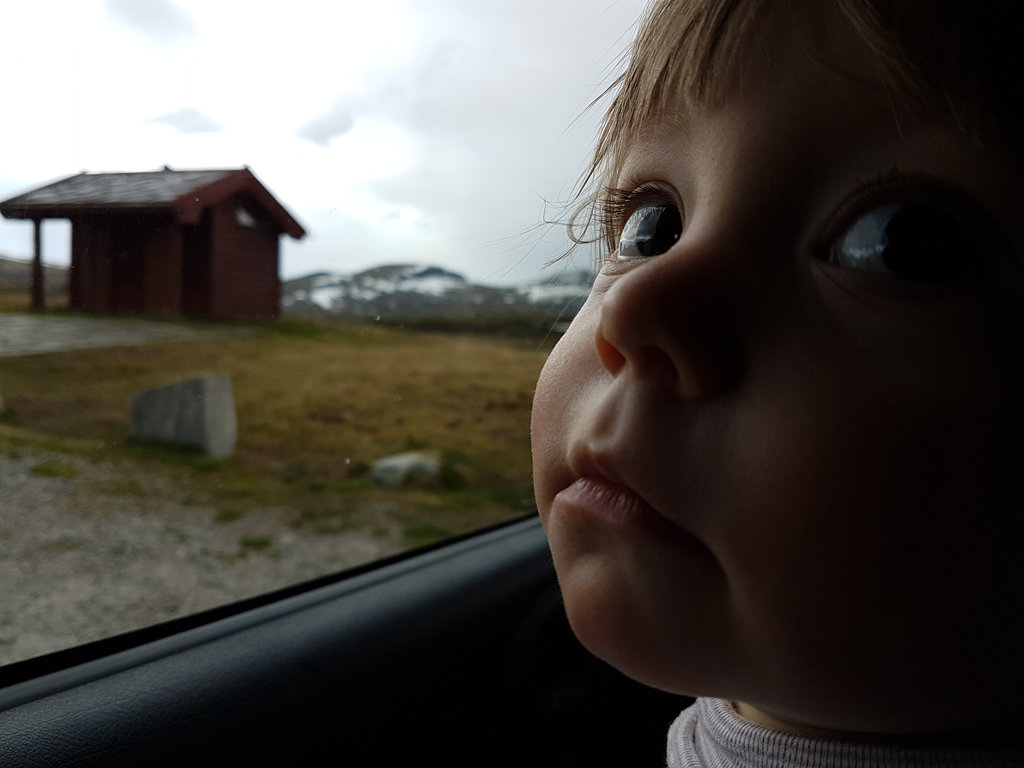 Norway road trip with baby Florens. Photo: Sanjin Đumišić.