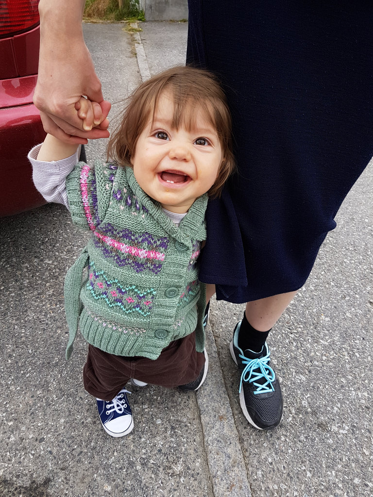 Baby Florens on Norway road trip. Photo: Sanjin Đumišić.
