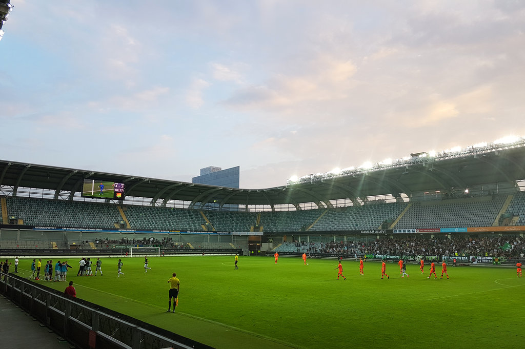 GAIS at Gamla Ullevi. Photo: Sanjin Đumišić.