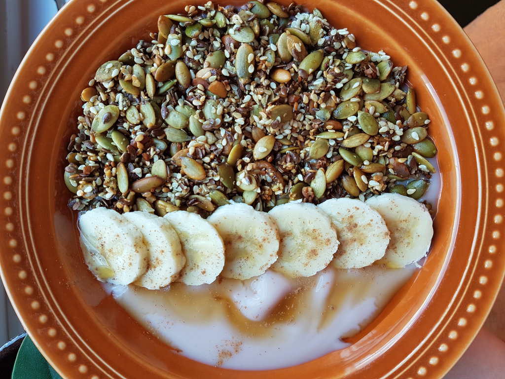 Homemade granola. Photo: Sanjin Đumišić.