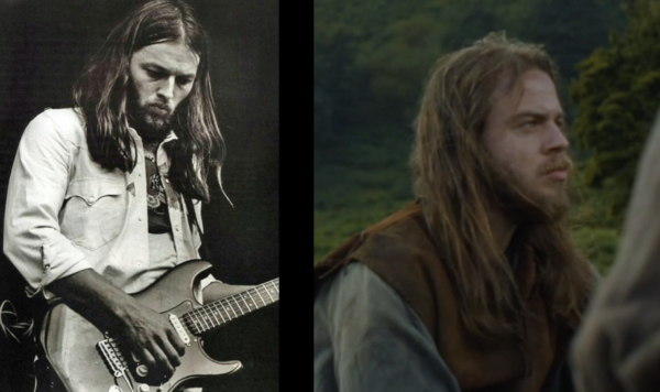 David Gilmour Lookalike in Game of Thrones