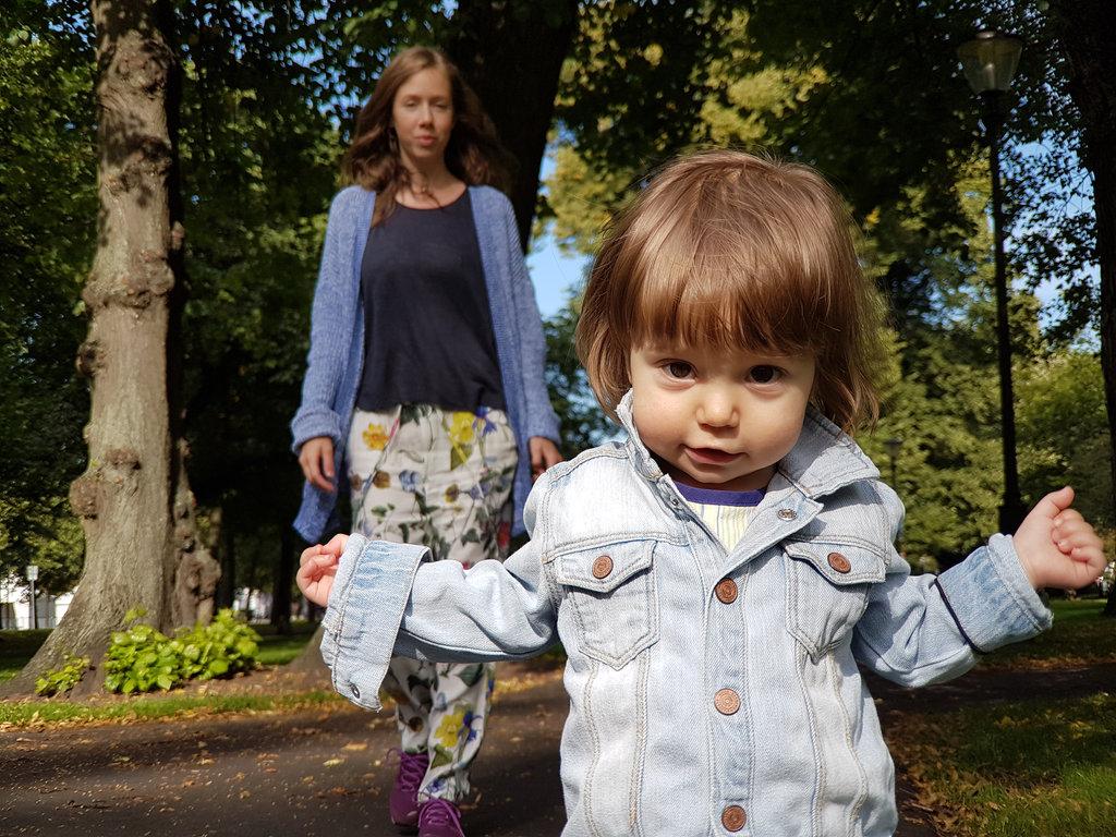 Lisa and baby Florens. Photo: Sanjin Đumišić.