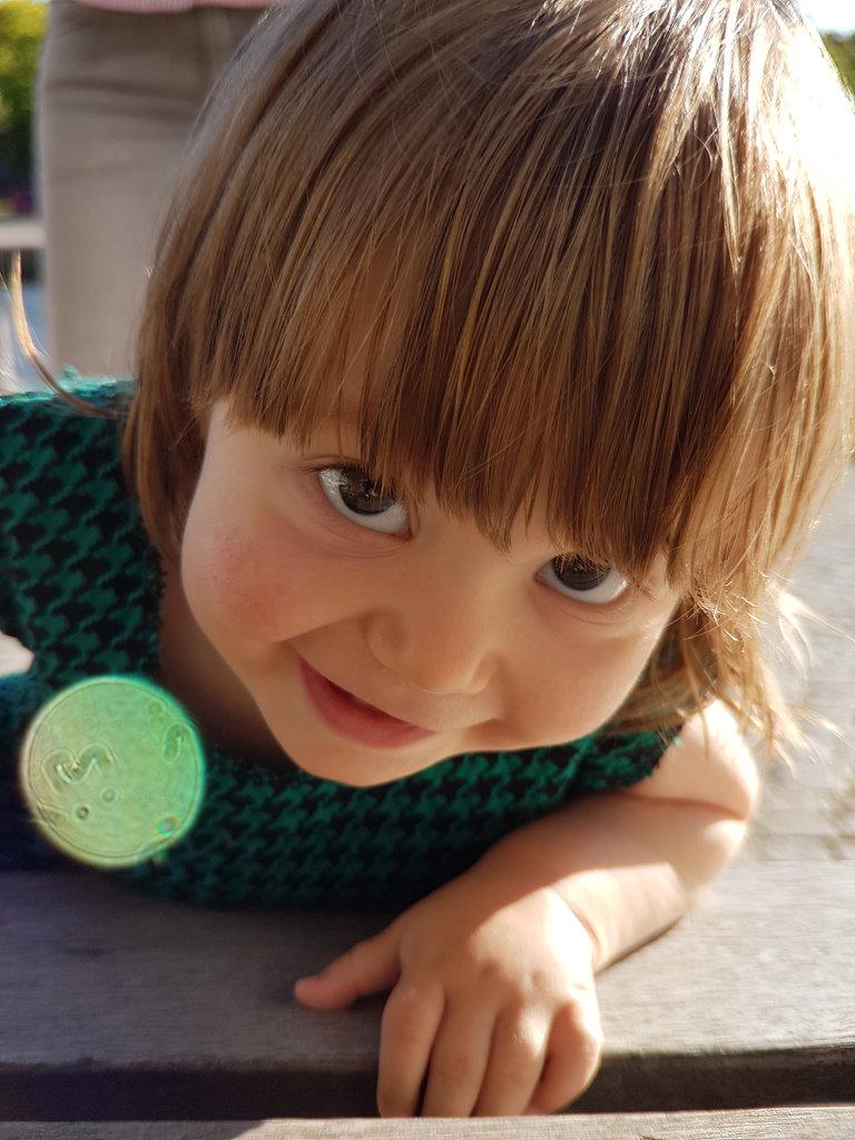 Baby Florens sunshine portrait. Photo: Sanjin Đumišić.