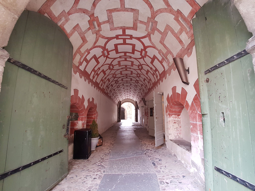 Kalmar Castle passage. Photo: Sanjin Đumišić.