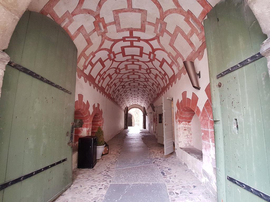 Kalmar Castle passage. Photo: Sanjin Đumišić.