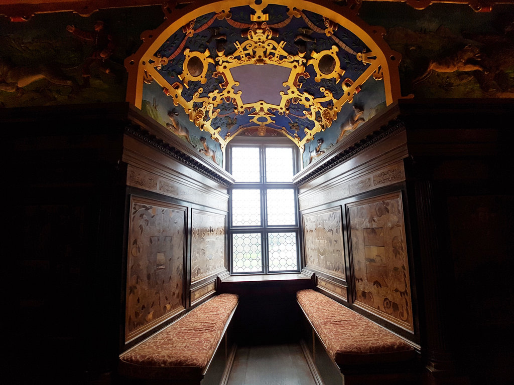 King's bedroom in Kalmar Castle. Photo: Sanjin Đumišić.