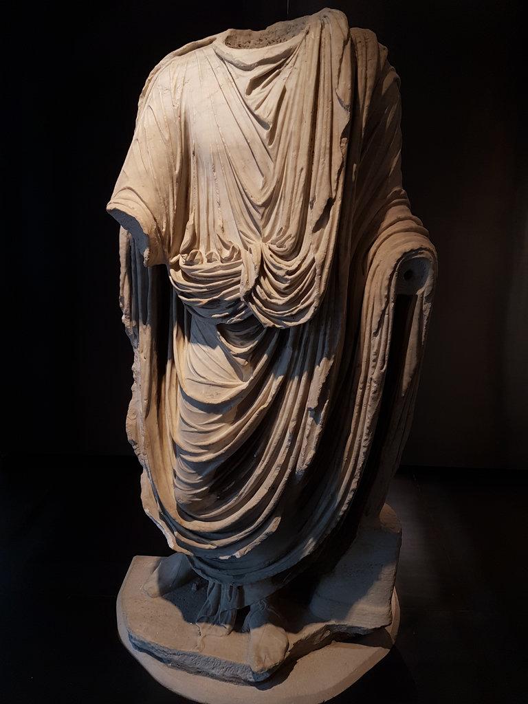 Antique statue. Photo: Sanjin Đumišić.