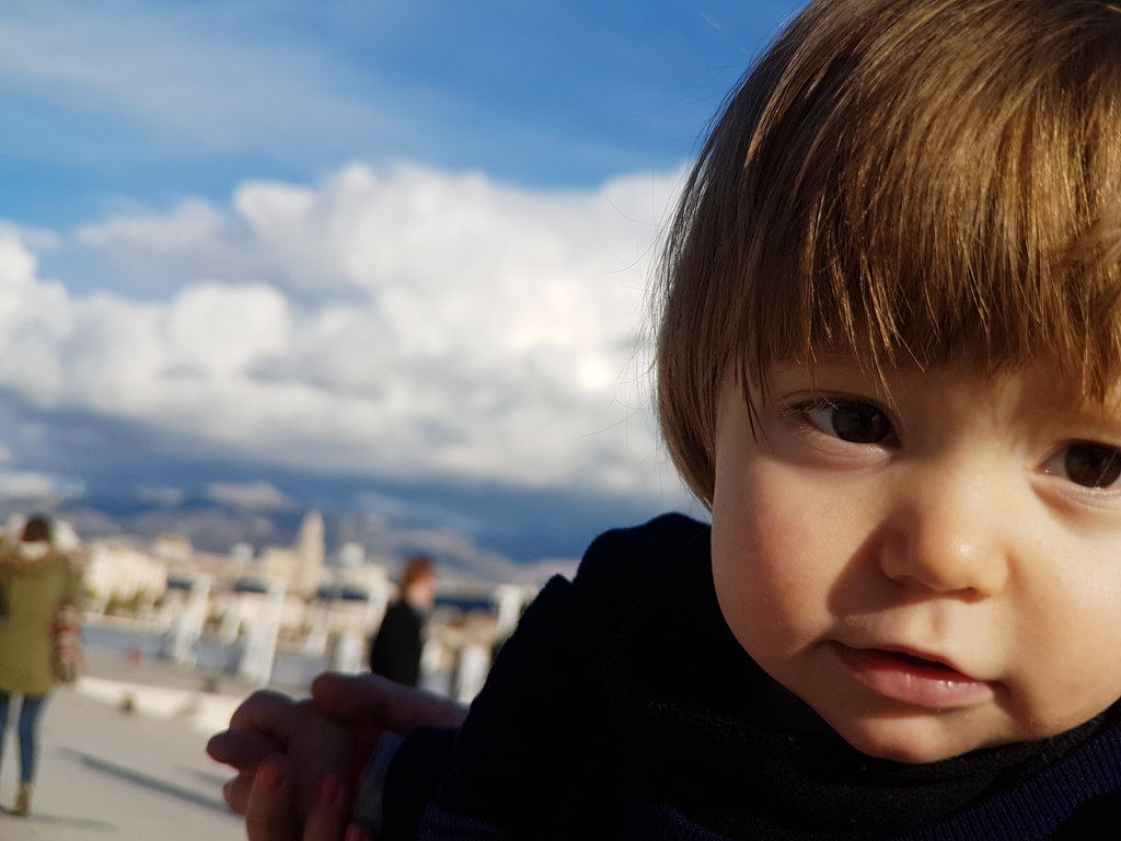 Baby Florens, portrait in Split. Photo: Sanjin Đumišić.