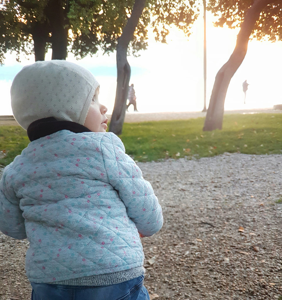 Baby Florens in Zadar. Photo: Lisa Sinclair.