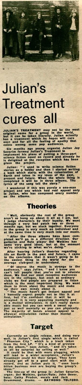 Interview with Julian Jay Savarin.