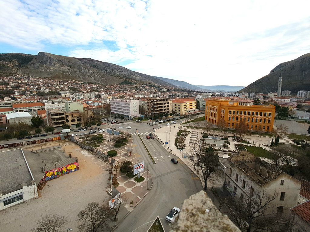 Spanish Square in Mostar. Photo: Sanjin Đumišić.