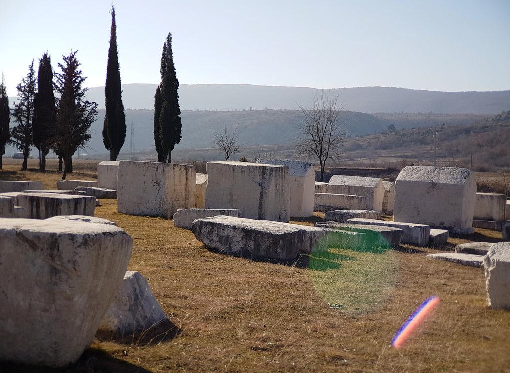 Stećci (Medieval Megalithic Tombstones) in Radimlja, Bosnia & Herzegovina