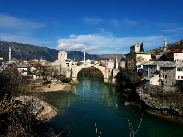 February Spring Vibes in Mostar