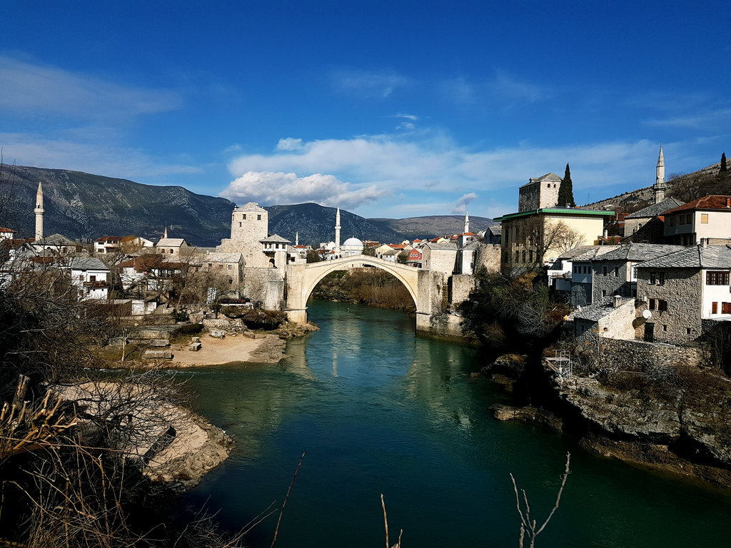 Stari Most. Photo: Sanjin Đumišić.
