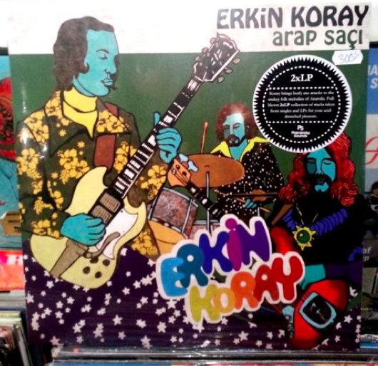 Erkin Koray, Arap Saci vinyl.