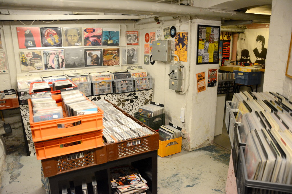 Galaxy Gramophone Records. Photo: Sanjin Đumišić.