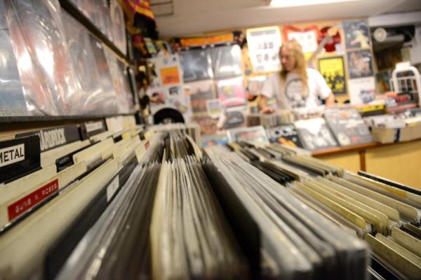 Skivbutiken Galaxy Gramophone Records i Göteborg