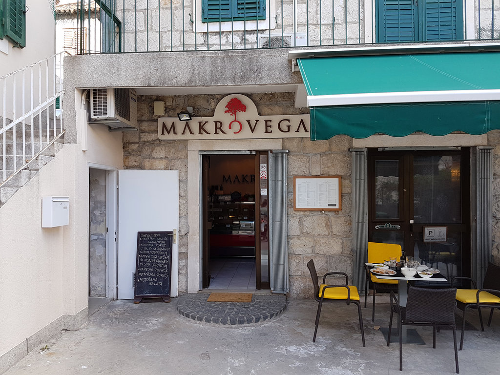 Makrovega in Split. Photo: Sanjin Đumišić.