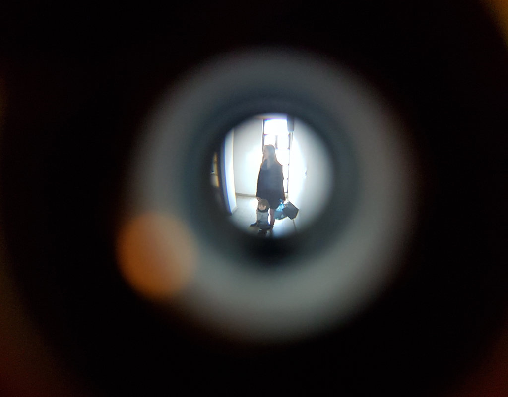 Peephole. Photo: Sanjin Đumišić.