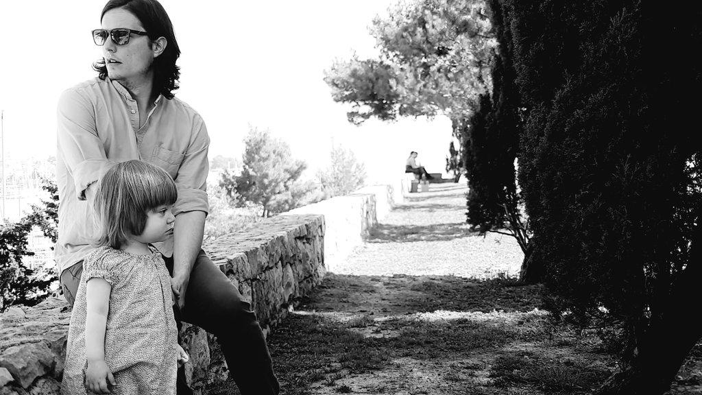Sanjin and Florens, springtime in Split. Photo: Lisa Sinclair.