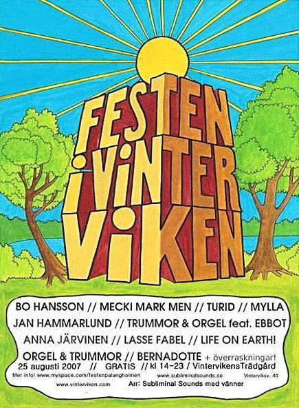 Festen i Vinterviken 2007.