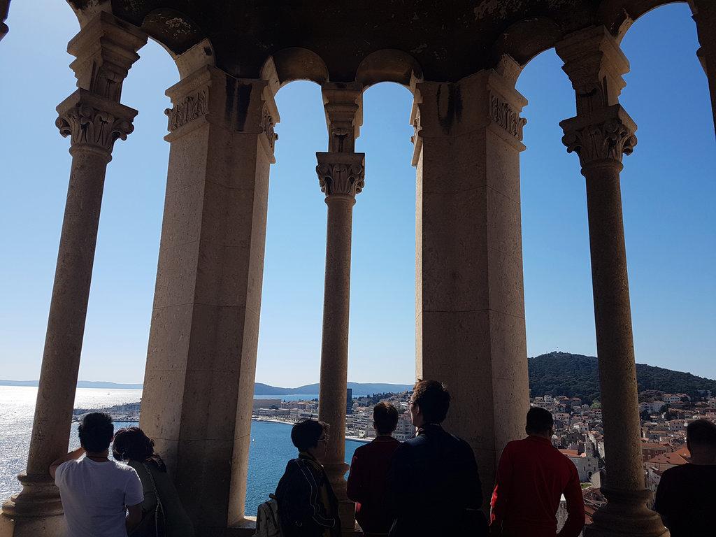 Bell tower in Split. Photo: Sanjin Đumišić.