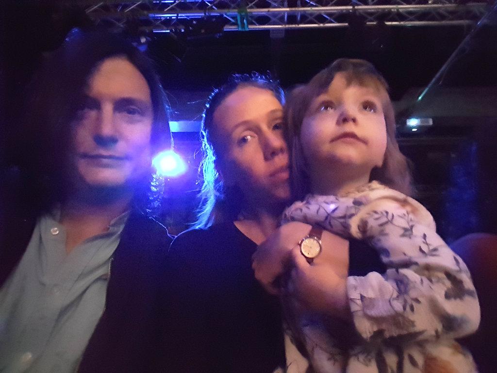 Sanjin, Lisa, Florens at Pozorište lutaka Mostar in Göteborg.