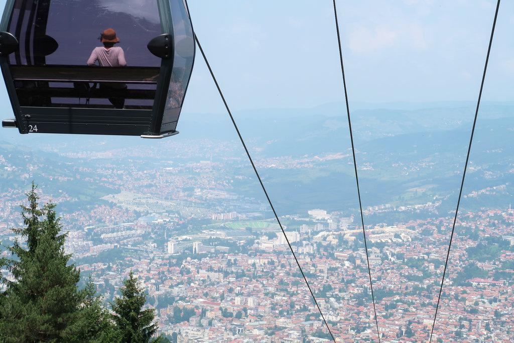 Sarajevo Trebević Cable Car. Photo: Sanjin Đumišić.