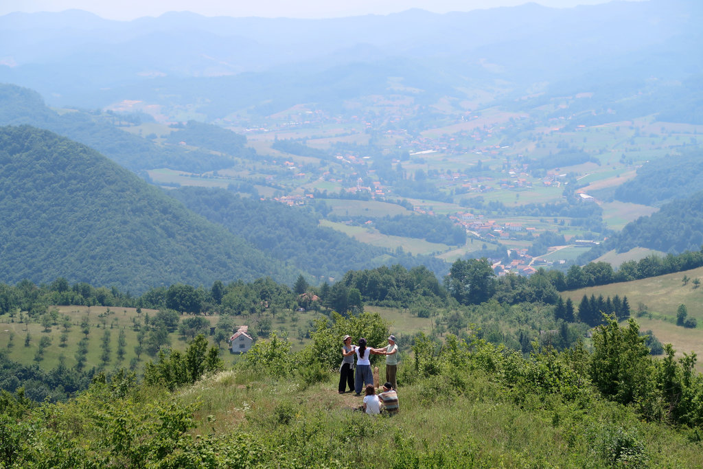 Visočica hill. Photo: Sanjin Đumišić.
