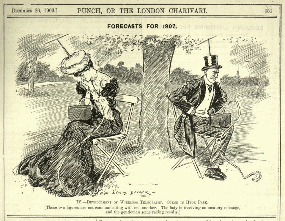 A Vision of Isolating Technology from 1906.