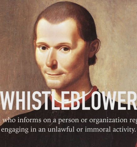 Niccolò Machiavelli Was a Renaissance Whistleblower