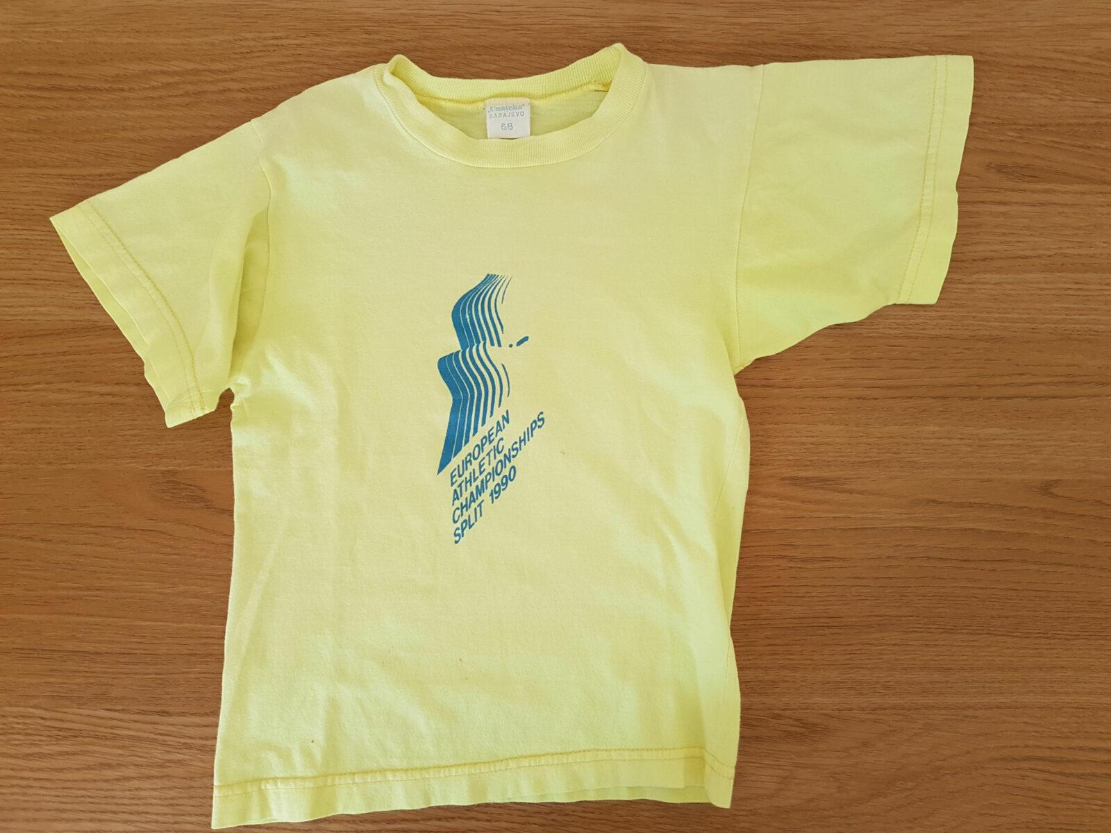 European Athletics Championships in Split 1990