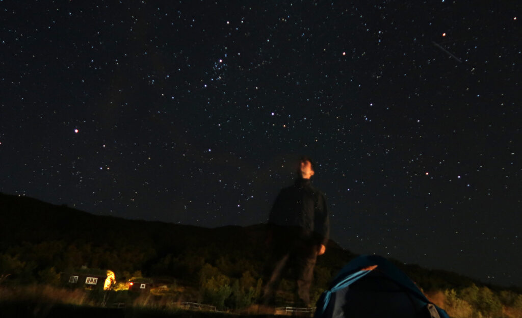 Starry Sky in Gjendesheim. Photo: Sanjin Đumišić.