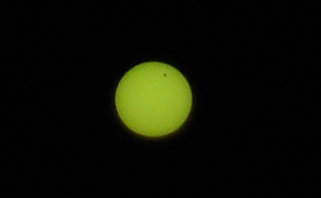 Transit of Venus. Photo: Sanjin Đumišić.
