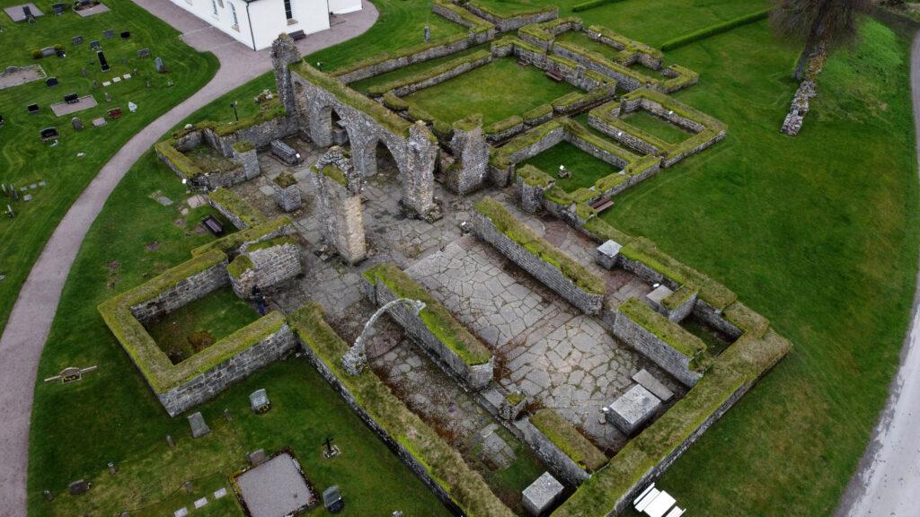 Gudhem Abbey Ruin. Photo: Sanjin Đumišić.
